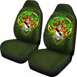 Fitz-Herbert Ireland Car Seat Cover Celtic Shamrock (Set Of Two) 154230 - YourCarButBetter