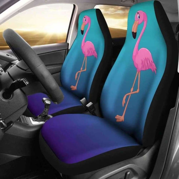 Flamingo Car Seat Covers 201010 - YourCarButBetter