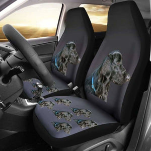 Flat Coat Retriever Car Seat Covers 115106 - YourCarButBetter