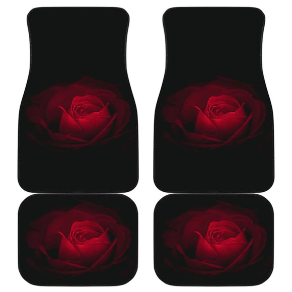Flower Roses Car Floor Mats 210902 - YourCarButBetter
