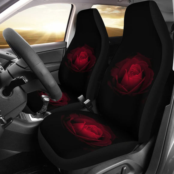 Flower Roses Car Seat Covers 210902 - YourCarButBetter