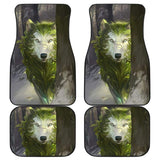 Forest the Wolf Car Floor Mats 212602 - YourCarButBetter