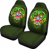 Fownes Ireland Car Seat Cover Celtic Shamrock (Set Of Two) 154230 - YourCarButBetter