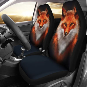 Fox 3D Car Seat Covers 211702 - YourCarButBetter