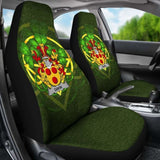 Gavin Or O'Gavan Ireland Car Seat Cover Celtic Shamrock (Set Of Two) 154230 - YourCarButBetter