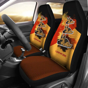 German Shepherd Dog Car Seat Covers 091706 - YourCarButBetter