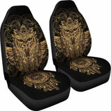Golden Owl Car Seat Cover (Set of 2) 174716 - YourCarButBetter