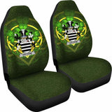 Halthom Ireland Car Seat Cover Celtic Shamrock (Set Of Two) 154230 - YourCarButBetter