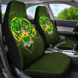 Haly Or O'Haly Ireland Car Seat Cover Celtic Shamrock (Set Of Two) 154230 - YourCarButBetter