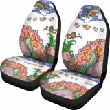 Happy Owls Car Seat Covers 174716 - YourCarButBetter