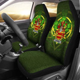 Harkins Or O'Harkin Ireland Car Seat Cover Celtic Shamrock (Set Of Two) 154230 - YourCarButBetter