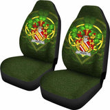 Heath Ireland Car Seat Cover Celtic Shamrock (Set Of Two) 154230 - YourCarButBetter