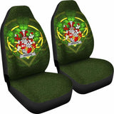 Hewson Ireland Car Seat Cover Celtic Shamrock (Set Of Two) 154230 - YourCarButBetter