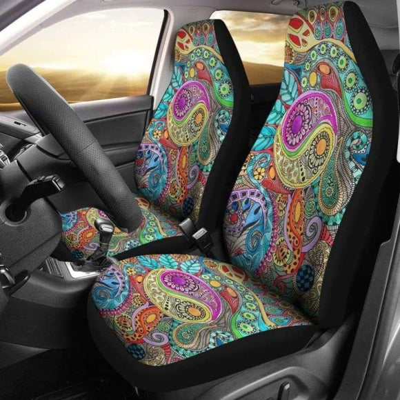Hippie Peace Chakra Car Seat Covers | Give Your Car A Makeover! 202820 - YourCarButBetter