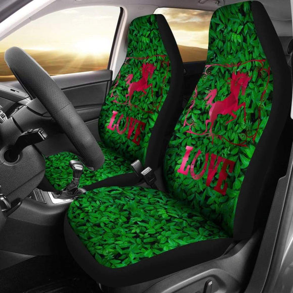 Horse Love Car Seat Covers 210203 - YourCarButBetter