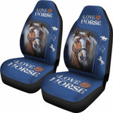 Horse Lover Car Seat Cover 05 170804 - YourCarButBetter