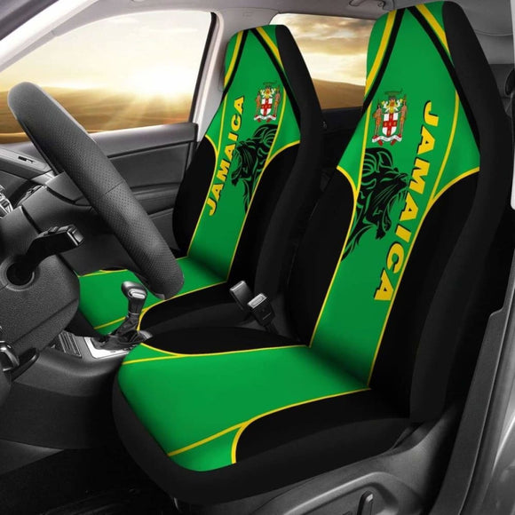 Jamaica Car Seat Covers - The Great Lion - Amazing 161012 - YourCarButBetter