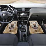 Labrador Car Floor Mats Funny For Dog Lab Lover 115106 - YourCarButBetter