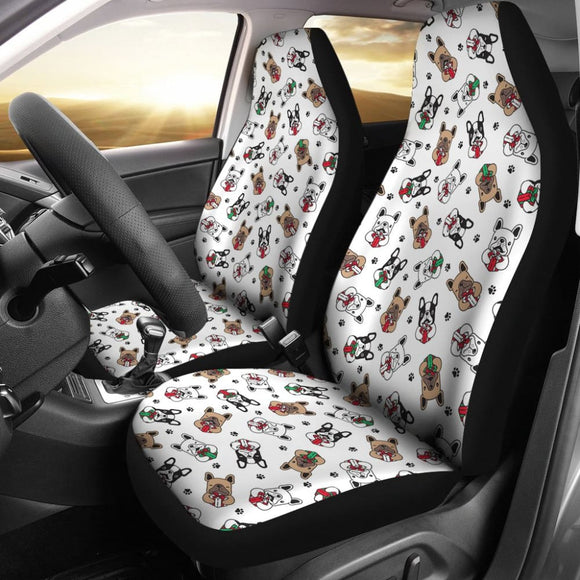 Lovely Cute French Bulldog Print Automotive Accessories Car Seat Covers 210602 - YourCarButBetter