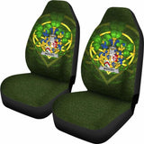 Mahony Or O'Mahoney Ireland Car Seat Cover Celtic Shamrock (Set Of Two) 154230 - YourCarButBetter