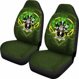 Mangan Or O'Mangan Ireland Car Seat Cover Celtic Shamrock (Set Of Two) 154230 - YourCarButBetter