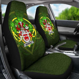 Mannion Or O'Mannion Ireland Car Seat Cover Celtic Shamrock (Set Of Two) 154230 - YourCarButBetter