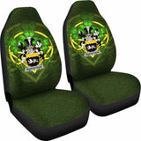 Margetson Ireland Car Seat Cover Celtic Shamrock (Set Of Two) 154230 - YourCarButBetter
