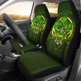 Marward Ireland Car Seat Cover Celtic Shamrock (Set Of Two) 154230 - YourCarButBetter