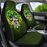 Maxwell Ireland Car Seat Cover Celtic Shamrock (Set Of Two) 154230 - YourCarButBetter