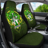 Mcalpine Or Macalpin Ireland Car Seat Cover Celtic Shamrock (Set Of Two) 154230 - YourCarButBetter