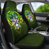 Mcclure Ireland Car Seat Cover Celtic Shamrock (Set Of Two) 154230 - YourCarButBetter