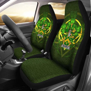 Mccurdy Or Curdy Ireland Car Seat Cover Celtic Shamrock (Set Of Two) 154230 - YourCarButBetter