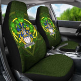 Mclysacht Or Lysacht Ireland Car Seat Cover Celtic Shamrock (Set Of Two) 154230 - YourCarButBetter