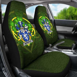 Meredith Ireland Car Seat Cover Celtic Shamrock (Set Of Two) 154230 - YourCarButBetter