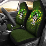 Molloy Or O'Mulloy Ireland Car Seat Cover Celtic Shamrock (Set Of Two) 154230 - YourCarButBetter