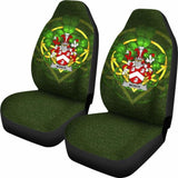 Monck Or Moncke Ireland Car Seat Cover Celtic Shamrock (Set Of Two) 154230 - YourCarButBetter