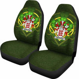Mortagh Or O'Mortagh Ireland Car Seat Cover Celtic Shamrock (Set Of Two) 154230 - YourCarButBetter