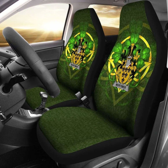 Mortimer Ireland Car Seat Cover Celtic Shamrock (Set Of Two) 154230 - YourCarButBetter