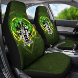 Nicholson Ireland Car Seat Cover Celtic Shamrock (Set Of Two) 154230 - YourCarButBetter
