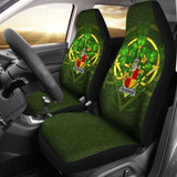 Packenham Ireland Car Seat Cover Celtic Shamrock (Set Of Two) 154230 - YourCarButBetter