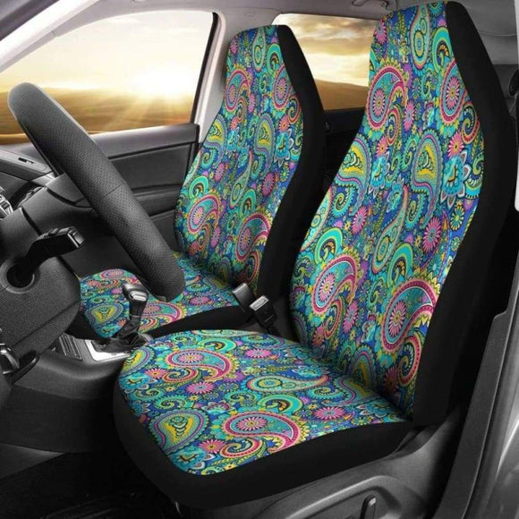 Paisley Peace Chakra Car Seat Covers | Give Your Car A Makeover! 202820 - YourCarButBetter