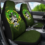 Palmer Ireland Car Seat Cover Celtic Shamrock (Set Of Two) 154230 - YourCarButBetter
