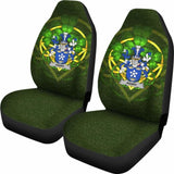 Parry Ireland Car Seat Cover Celtic Shamrock (Set Of Two) 154230 - YourCarButBetter