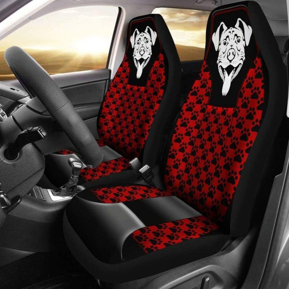 Pitbull Love Car Seat Cover 113510 - YourCarButBetter