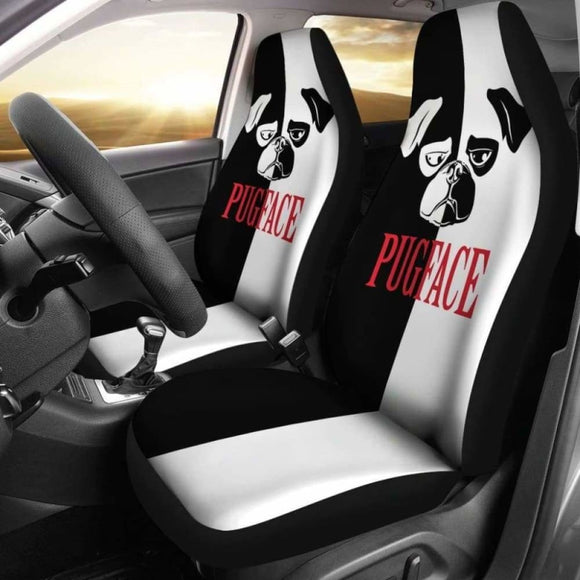 Pugface Car Seat Covers 102918 - YourCarButBetter