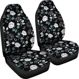 Rose Car Seat Covers 210705 - YourCarButBetter