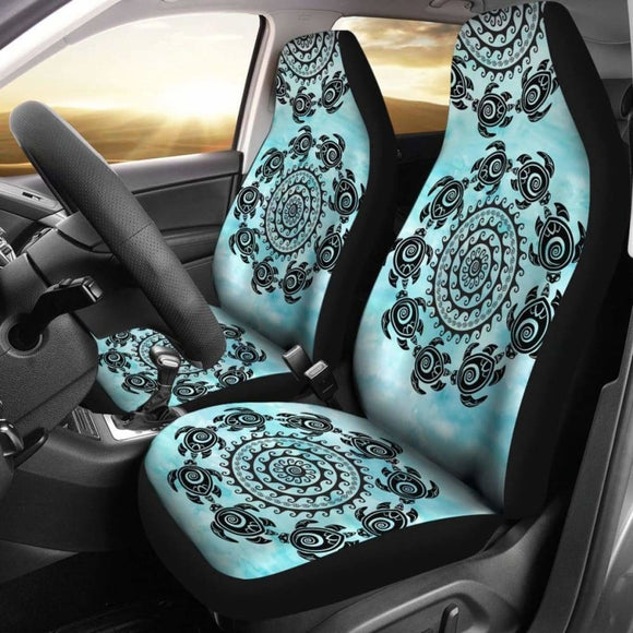 Turtle Mandala Car Seat Covers 091114 - YourCarButBetter