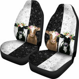 Two Cows - Car Seat Covers 144730 - YourCarButBetter