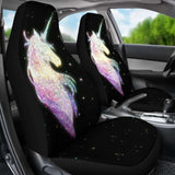 Unicorn Car Seat Cover 01 - Galaxy - 170817 - YourCarButBetter