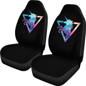 Unicorn Car Seat Cover 02 - Galaxy - 170817 - YourCarButBetter